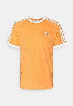 adidas Originals - 3 STRIPES TEE UNISEX - T-Shirt print - hazy orange