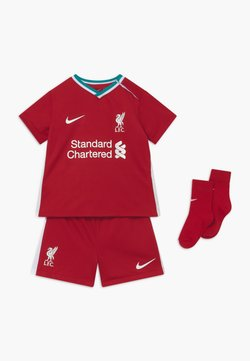 Nike Performance - LIVERPOOL FC SET - Korte sportsbukser - gym red/white
