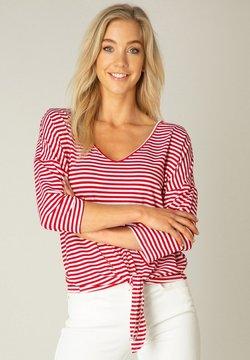 ES&SY - Langarmshirt - red/white