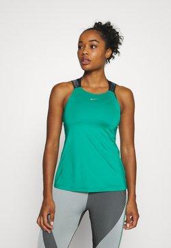 Nike Performance - ELASTIKA TANK - Funktionsshirt - neptune green/black/metallic silver