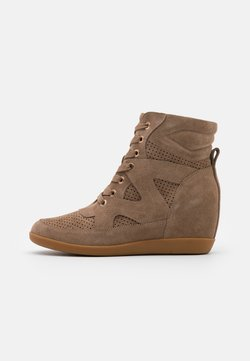 Shoe The Bear - EMMY LACE - Ankle Boot - taupe