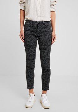 Opus - ELMA LEO - Jeans Slim Fit - slate grey melange