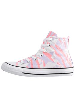 Converse - CTAS - Sneakersy wysokie - electric blush/multi/white