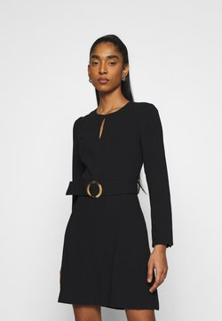 Forever New - LAURA DRAPE WORKWEAR DRESS - Vestido de tubo - black