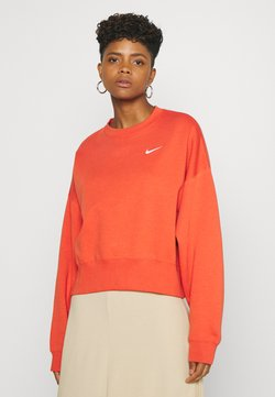 Nike Sportswear - CREW TREND - Sweater - mantra orange/white