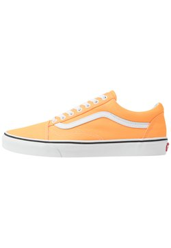 Vans - OLD SKOOL UNISEX - Baskets basses - neon blazing orange/true white