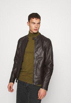 Lindbergh - Leren jas - brown