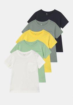 Name it - NBMSAZU 5 PACK - Camiseta estampada - pastel green
