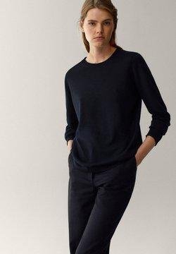 Massimo Dutti - Jumper - black