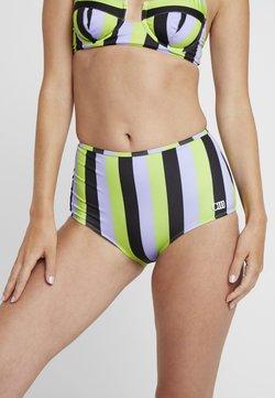 Solid & Striped - THE KIKI BOTTOM - Bikini-Hose - lavender/lime/black