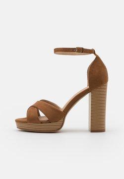 Anna Field - High Heel Sandalette - cognac