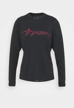Zimtstern - ECOFLOWZ  WOMENS - Langarmshirt - pirate black/jester red