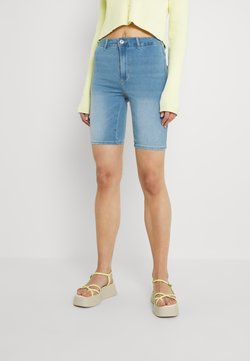 ONLY - ONLROYAL BIKE - Jeansshort - light blue denim