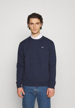 Tommy Jeans - REGULAR CNECK - Sweatshirt - twilight navy