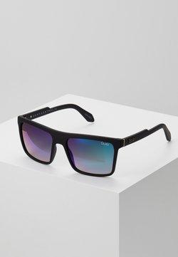 QUAY AUSTRALIA - LET IT RUN - Gafas de sol - matte black/navy