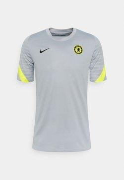 Nike Performance - CHELSEA LONDON - Pelipaita - wolf grey/opti yellow/black