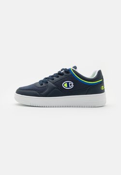 Champion - LOW CUT SHOE NEW REBOUND UNISEX - Koripallokengät - navy/blue