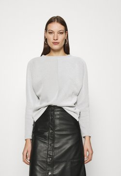 Calvin Klein - Strickpullover - white/black