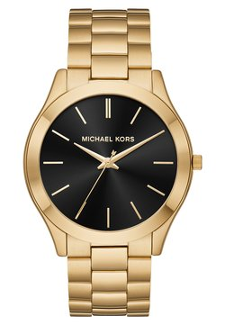 Michael Kors - SLIM RUNWAY - Montre - gold-coloured