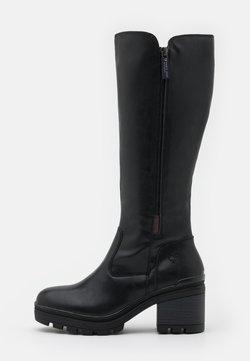 Marco Tozzi - BOOTS - Platform boots - black antic