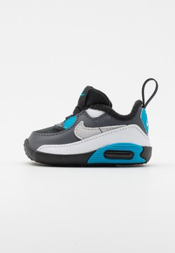 Nike Sportswear - MAX 90 CRIB - Chaussons pour bébé - black/neutral grey/dark grey/white