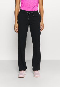 Casall - ESSENTIAL FLEX PANTS - Jogginghose - black
