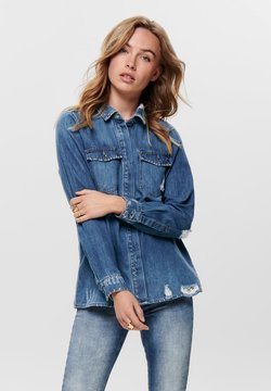 ONLY - Koszula - dark blue denim
