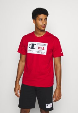 Champion - CREWNECK  - T-shirt print - red