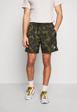 Nike Sportswear - FLOW  - Short - legion green/black/treeline