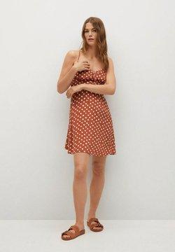 Mango - Robe d'été - oranjebruin