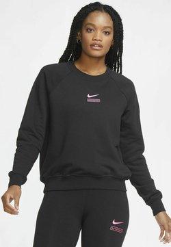 Nike Sportswear - Sweatshirt - black/hyper pink