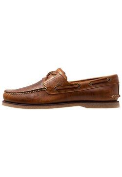Timberland - CLASSIC 2 EYE - Chaussures bateau - medium brown