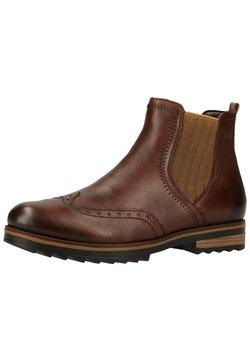 Remonte - Ankle Boot - mokka/mustard/25