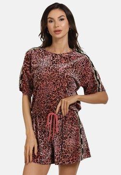 faina - T-Shirt print - rosa leo