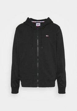 Tommy Jeans - BASKETBALL GRAPHIC  - veste en sweat zippée - black