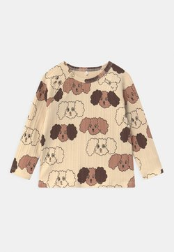 Mini Rodini - FLUFFY DOG UNISEX - Longsleeve - beige
