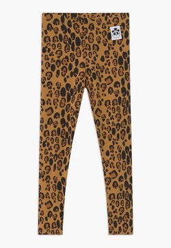 Mini Rodini - BASIC LEOPARD - Leggings - Hosen - beige