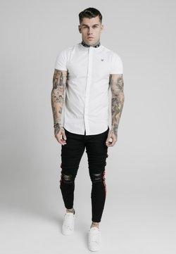 SIKSILK - TAPE COLLAR - Hemd - white