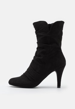 Head over Heels by Dune - ROMY - Enkellaarsjes met hoge hak - black