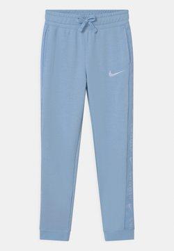 Nike Sportswear - Verryttelyhousut - psychic blue/white