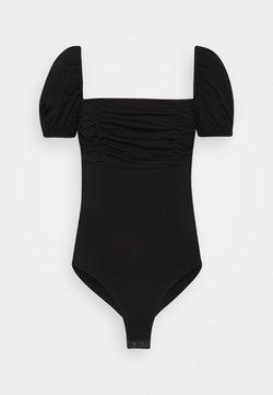 Fashion Union Tall - DEIDRE BODYSUIT - T-shirt print - black
