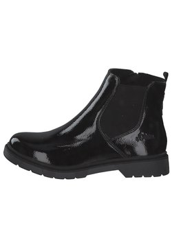 s.Oliver - Ankle Boot - black patent