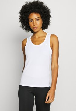 ODLO - CREW NECK SINGLET ACTIVE F-DRY - Camiseta interior - white