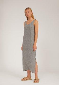ARMEDANGELS - MADALENAA PRETTY STRIPE - Jerseykleid - black/grey
