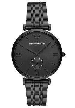 Emporio Armani - GIANNI T-BAR - Montre - black