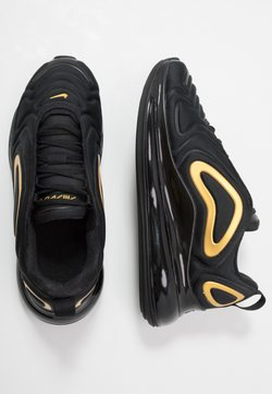Nike Sportswear - AIR MAX 720 - Baskets basses - black/mtetallic gold