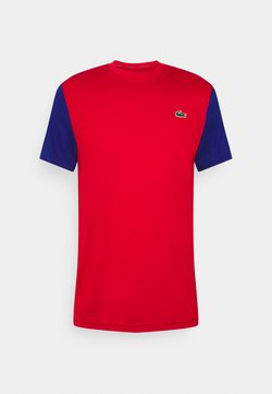 Lacoste Sport - TENNIS  - T-Shirt print - red/cosmic