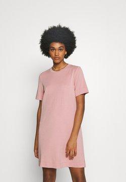 Monki - ABBIE DRESS - Jerseykleid - pink dusty light