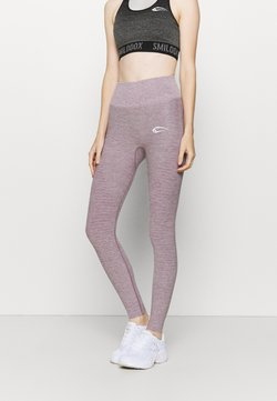 Smilodox - HIGH WAIST LEGGINGS YURA - Tights - lila