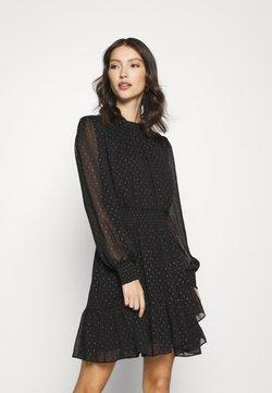 Forever New - CALLIE SKATER MINI DRESS - Freizeitkleid - black